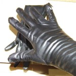 leather glove fetish